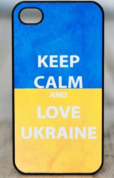 "Чохол для iPhone 5/5S ""Love Ukraine"""